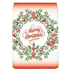 Merry Christmas Wreath Flap Covers (l)