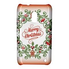 Merry Christmas Wreath Nokia Lumia 620