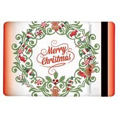 Merry Christmas Wreath Ipad Air Flip
