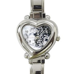 Earth Right Now Heart Italian Charm Watch