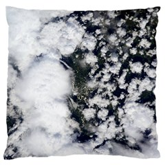 Earth Right Now Large Cushion Case (one Side)