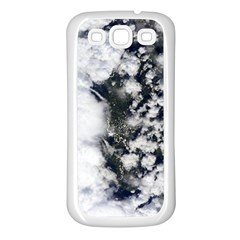 Earth Right Now Samsung Galaxy S3 Back Case (white)