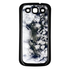 Earth Right Now Samsung Galaxy S3 Back Case (black)