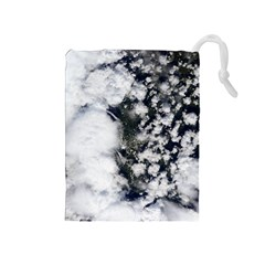 Earth Right Now Drawstring Pouches (medium)