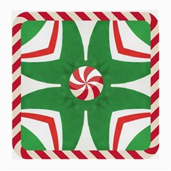 Candy Cane Kaleidoscope Medium Glasses Cloth (2 Side)