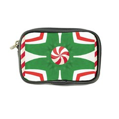 Candy Cane Kaleidoscope Coin Purse