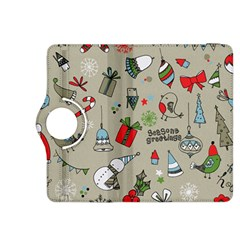 Beautiful Design Christmas Seamless Pattern Kindle Fire Hdx 8 9  Flip 360 Case