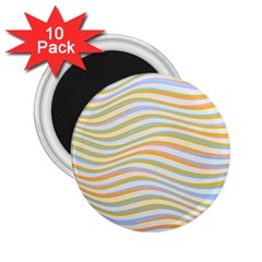Art Abstract Colorful Colors 2 25  Magnets (10 Pack)