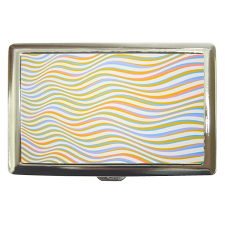 Art Abstract Colorful Colors Cigarette Money Cases