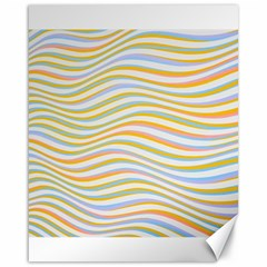 Art Abstract Colorful Colors Canvas 16  X 20