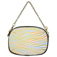 Art Abstract Colorful Colors Chain Purses (one Side)