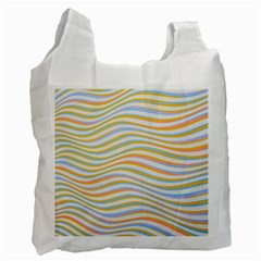 Art Abstract Colorful Colors Recycle Bag (one Side)