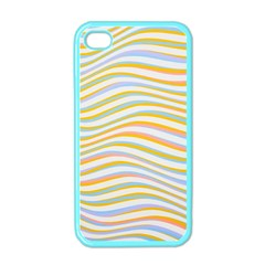 Art Abstract Colorful Colors Apple Iphone 4 Case (color)