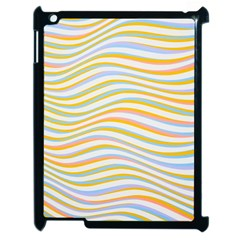 Art Abstract Colorful Colors Apple Ipad 2 Case (black)