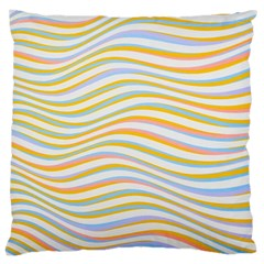 Art Abstract Colorful Colors Large Cushion Case (two Sides)