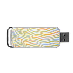 Art Abstract Colorful Colors Portable Usb Flash (one Side)