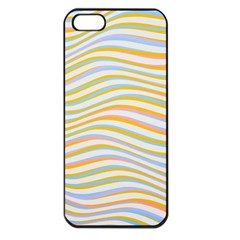 Art Abstract Colorful Colors Apple Iphone 5 Seamless Case (black)