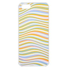 Art Abstract Colorful Colors Apple Iphone 5 Seamless Case (white)