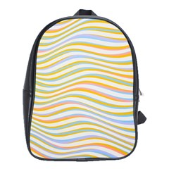 Art Abstract Colorful Colors School Bag (xl)