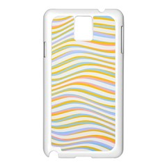 Art Abstract Colorful Colors Samsung Galaxy Note 3 N9005 Case (white)