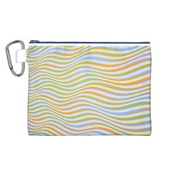 Art Abstract Colorful Colors Canvas Cosmetic Bag (l)