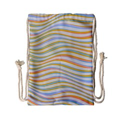 Art Abstract Colorful Colors Drawstring Bag (small)
