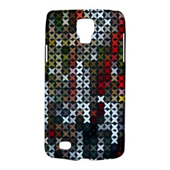 Christmas Cross Stitch Background Galaxy S4 Active