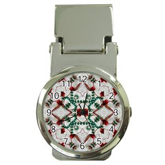 Christmas Paper Money Clip Watches
