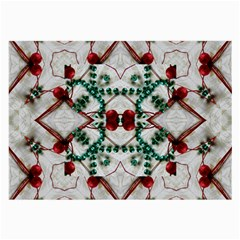Christmas Paper Large Glasses Cloth