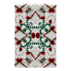 Christmas Paper Shower Curtain 48  X 72  (small)