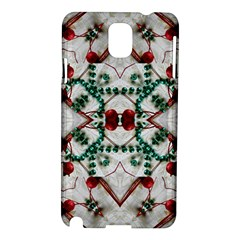 Christmas Paper Samsung Galaxy Note 3 N9005 Hardshell Case
