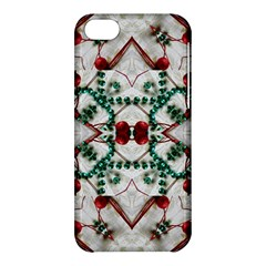 Christmas Paper Apple Iphone 5c Hardshell Case