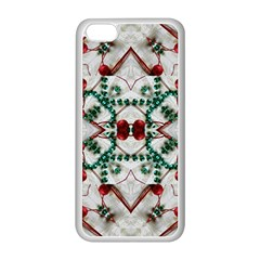 Christmas Paper Apple Iphone 5c Seamless Case (white)