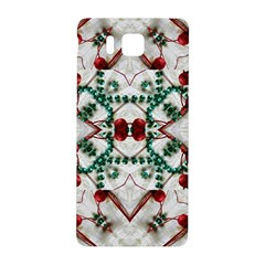 Christmas Paper Samsung Galaxy Alpha Hardshell Back Case
