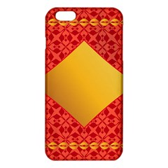 Christmas Card Pattern Background Iphone 6 Plus/6s Plus Tpu Case