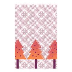 Christmas Card Elegant Shower Curtain 48  X 72  (small)