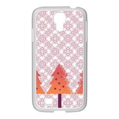 Christmas Card Elegant Samsung Galaxy S4 I9500/ I9505 Case (white)