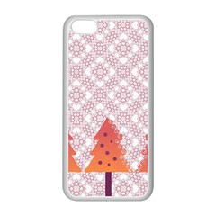 Christmas Card Elegant Apple Iphone 5c Seamless Case (white)