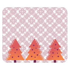 Christmas Card Elegant Double Sided Flano Blanket (small)