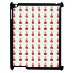 At On Christmas Present Background Apple Ipad 2 Case (black)