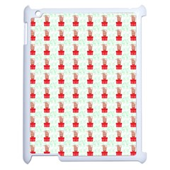 At On Christmas Present Background Apple Ipad 2 Case (white)