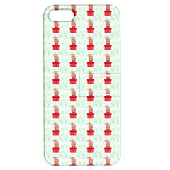 At On Christmas Present Background Apple Iphone 5 Hardshell Case With Stand