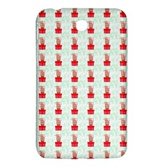 At On Christmas Present Background Samsung Galaxy Tab 3 (7 ) P3200 Hardshell Case