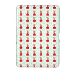 At On Christmas Present Background Samsung Galaxy Tab 2 (10 1 ) P5100 Hardshell Case