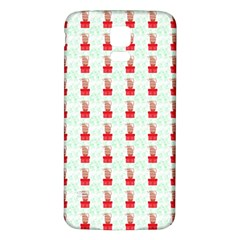 At On Christmas Present Background Samsung Galaxy S5 Back Case (white)