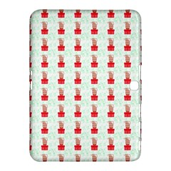 At On Christmas Present Background Samsung Galaxy Tab 4 (10 1 ) Hardshell Case