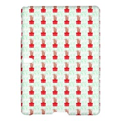 At On Christmas Present Background Samsung Galaxy Tab S (10 5 ) Hardshell Case