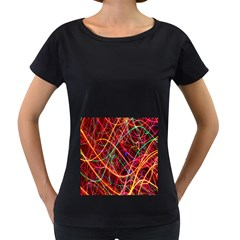 Wave Behaviors Women s Loose Fit T Shirt (black)