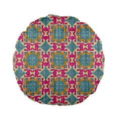 Christmas Wallpaper Standard 15  Premium Round Cushions