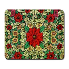 Calsidyrose Groovy Christmas Large Mousepads